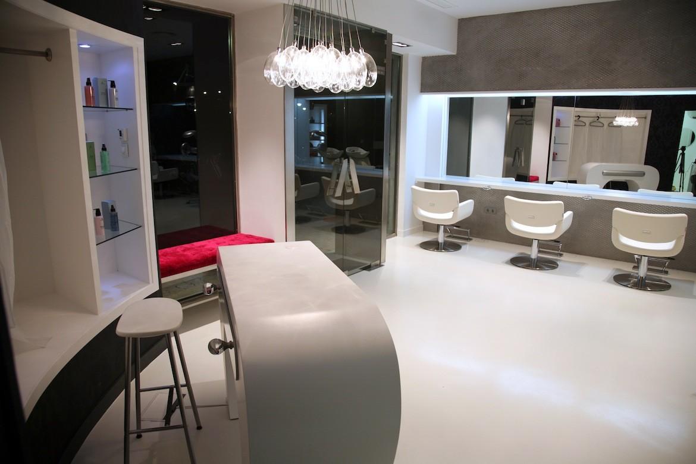 Centro de peluquer a y est tica sevilla interiorismo conceptual estudio - Proyecto de peluqueria ...
