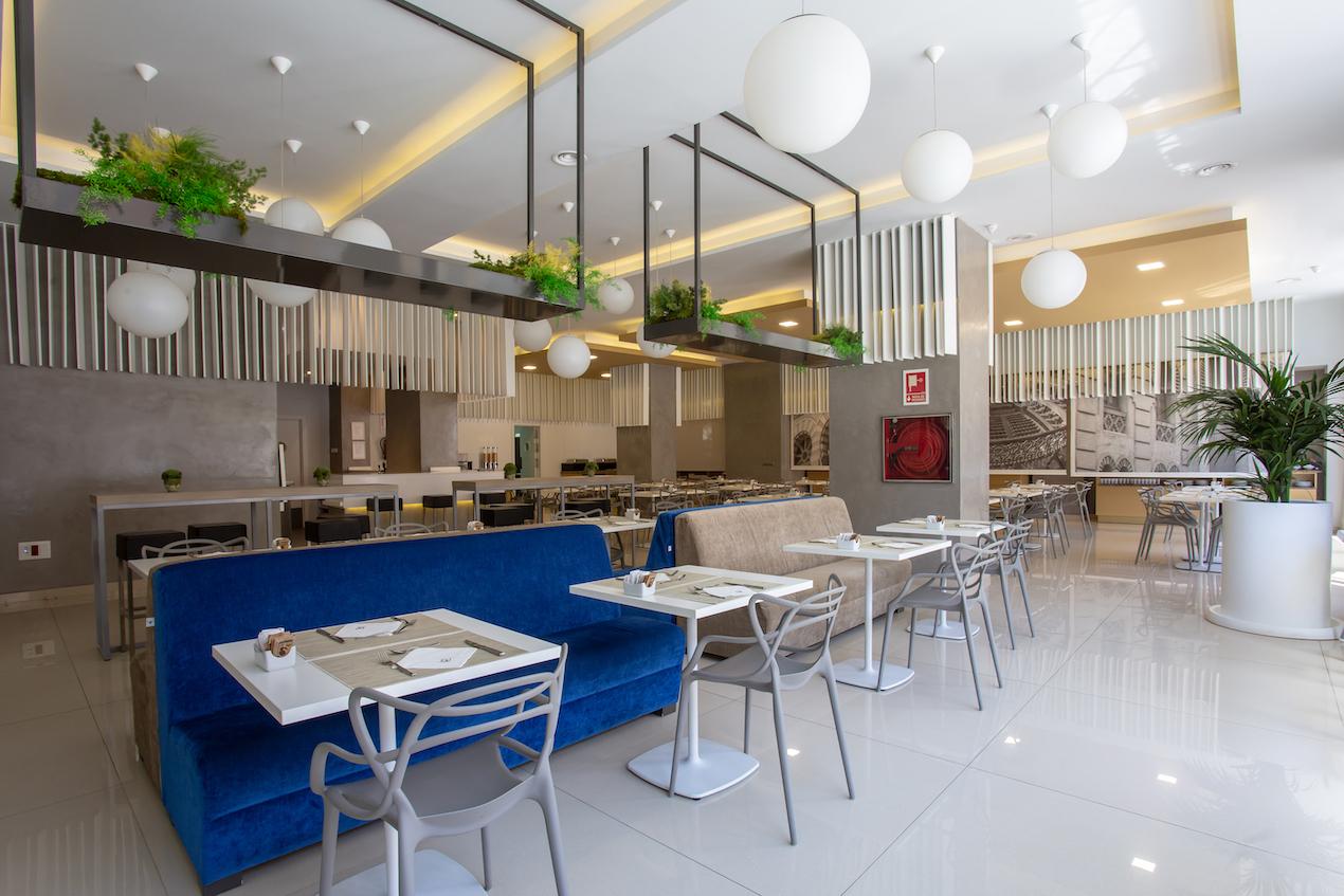 hotel monte puertatierra cadiz cafeteria 1 - Hotel Monte Puertatierra. Cadiz.