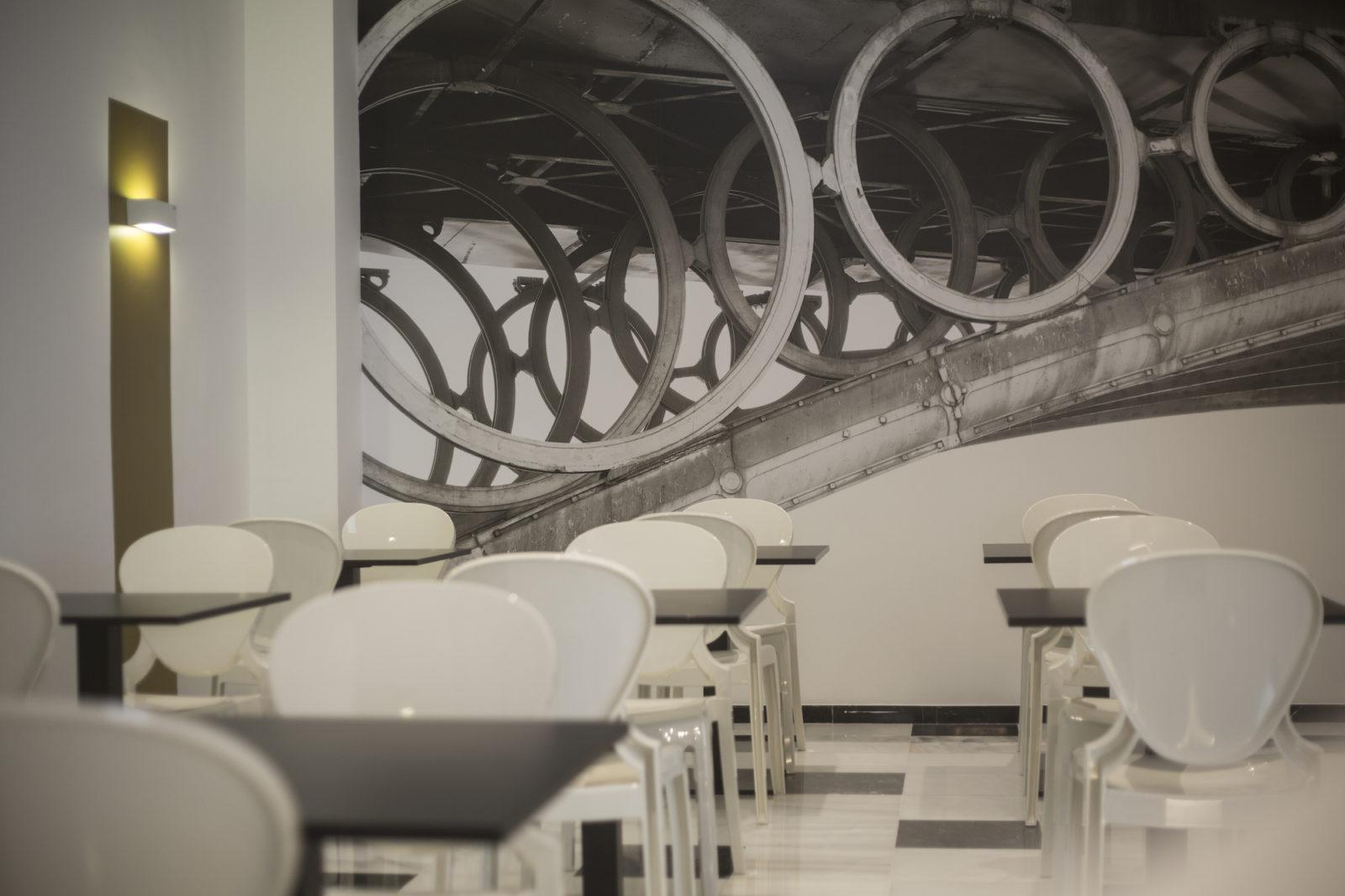 bar cafeteria hotel Monte Triana