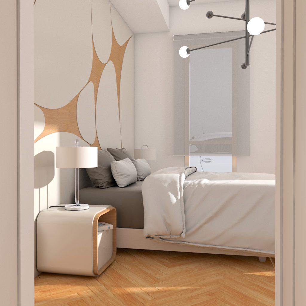 dormitorio detalle residencial mairena del alcor sevilla 1024x1024 - Proyecto residencial Mairena del Alcor.