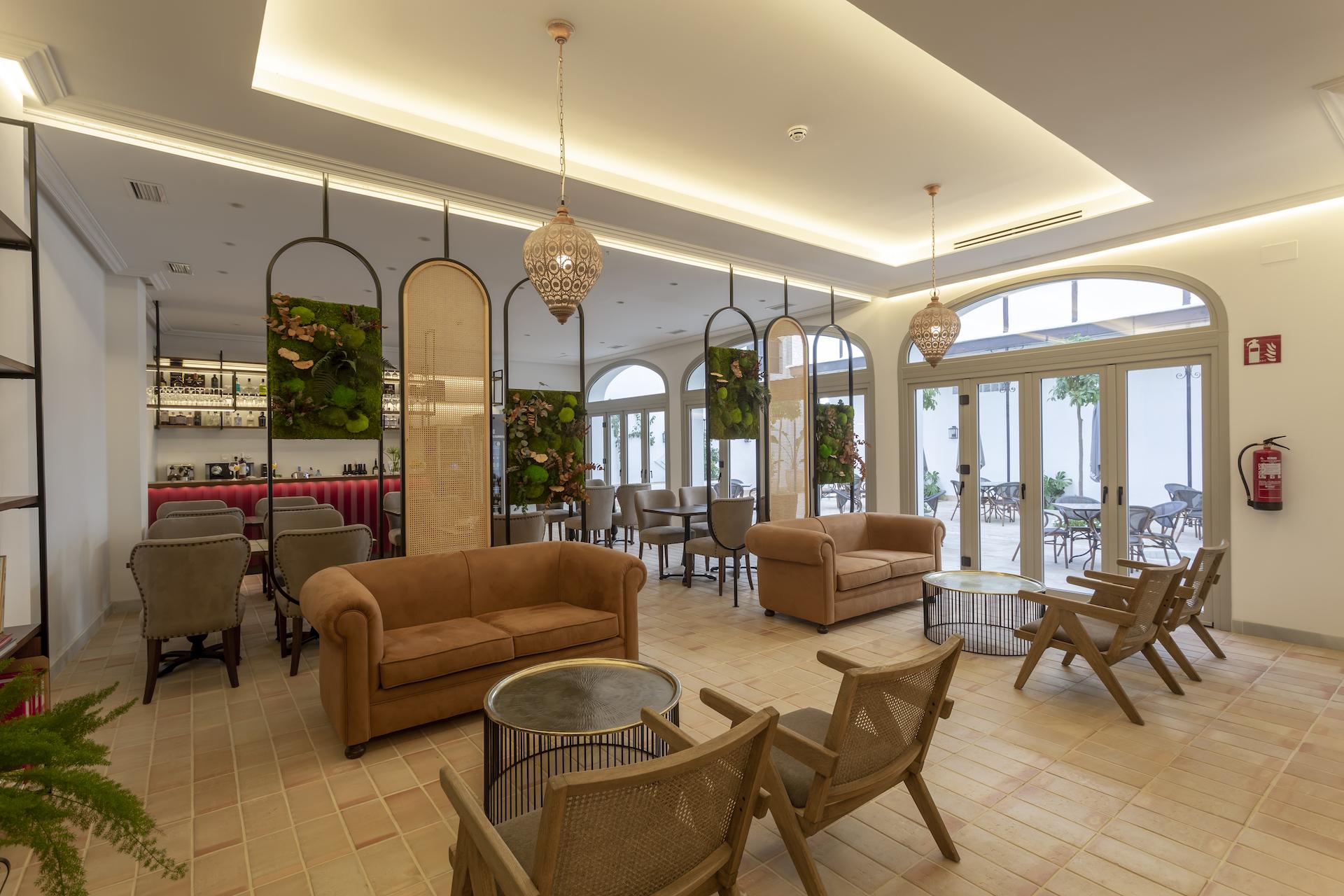 hotel boutique albariza salon 03 - Hotel Albariza. Sanlúcar de Barrameda. Cadiz.