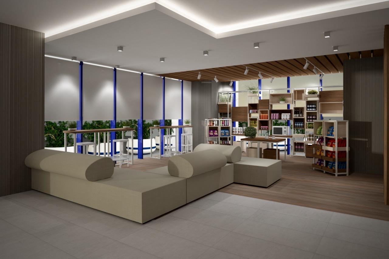 hotel hilton garden inn sevilla the shop - The shop Hotel Hilton Garden Inn. Sevilla | Propuesta para la tienda THE SHOP
