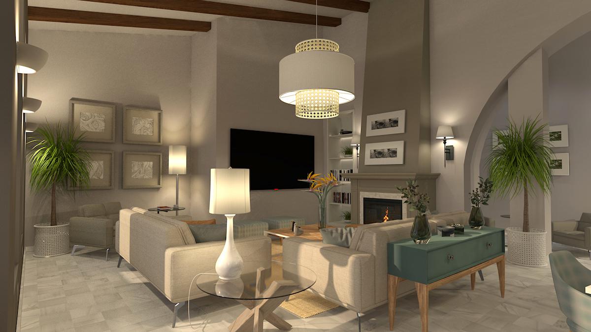 salon alcala de guadaira 02 FINAL - Proyecto residencial | Alcalá de Guadaira | Sevilla